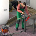 Entstauber für Reinigungszwecke und als Absaugung an Maschinen