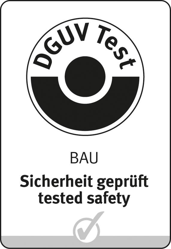 Logo von DGUV Test BAU