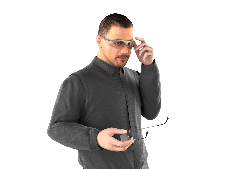 Korrekturschutzbrille