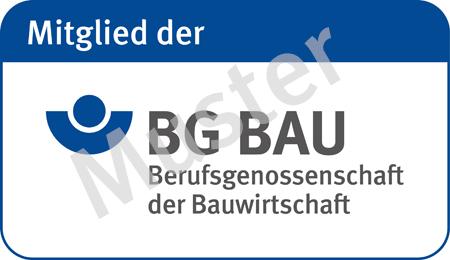 BG BAU-Signet mit Wasserzeichen