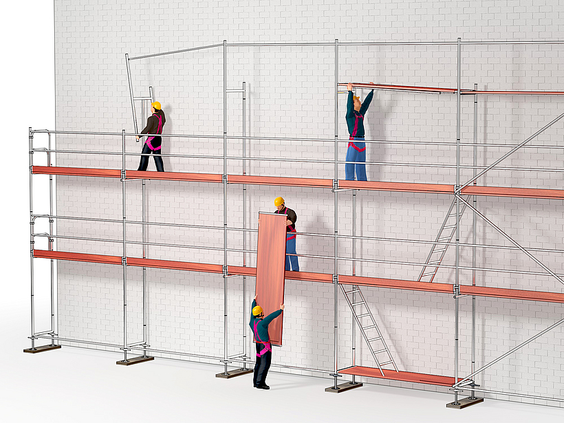 Häufig Aktuelle Änderungen bei der Verwendung von Leitern und Gerüsten XA54